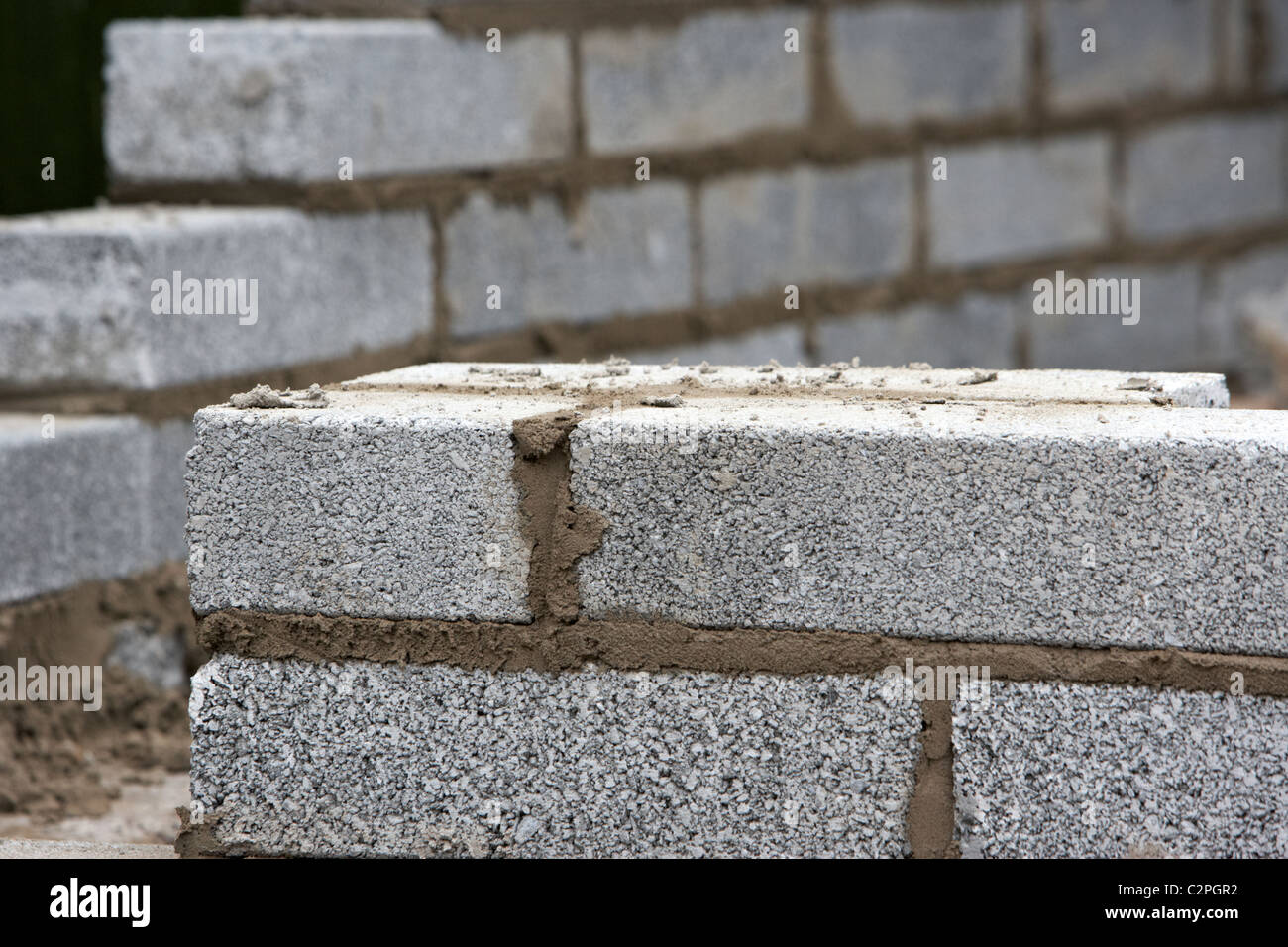 Block Wall Construction : Brick retaining walls stock photos