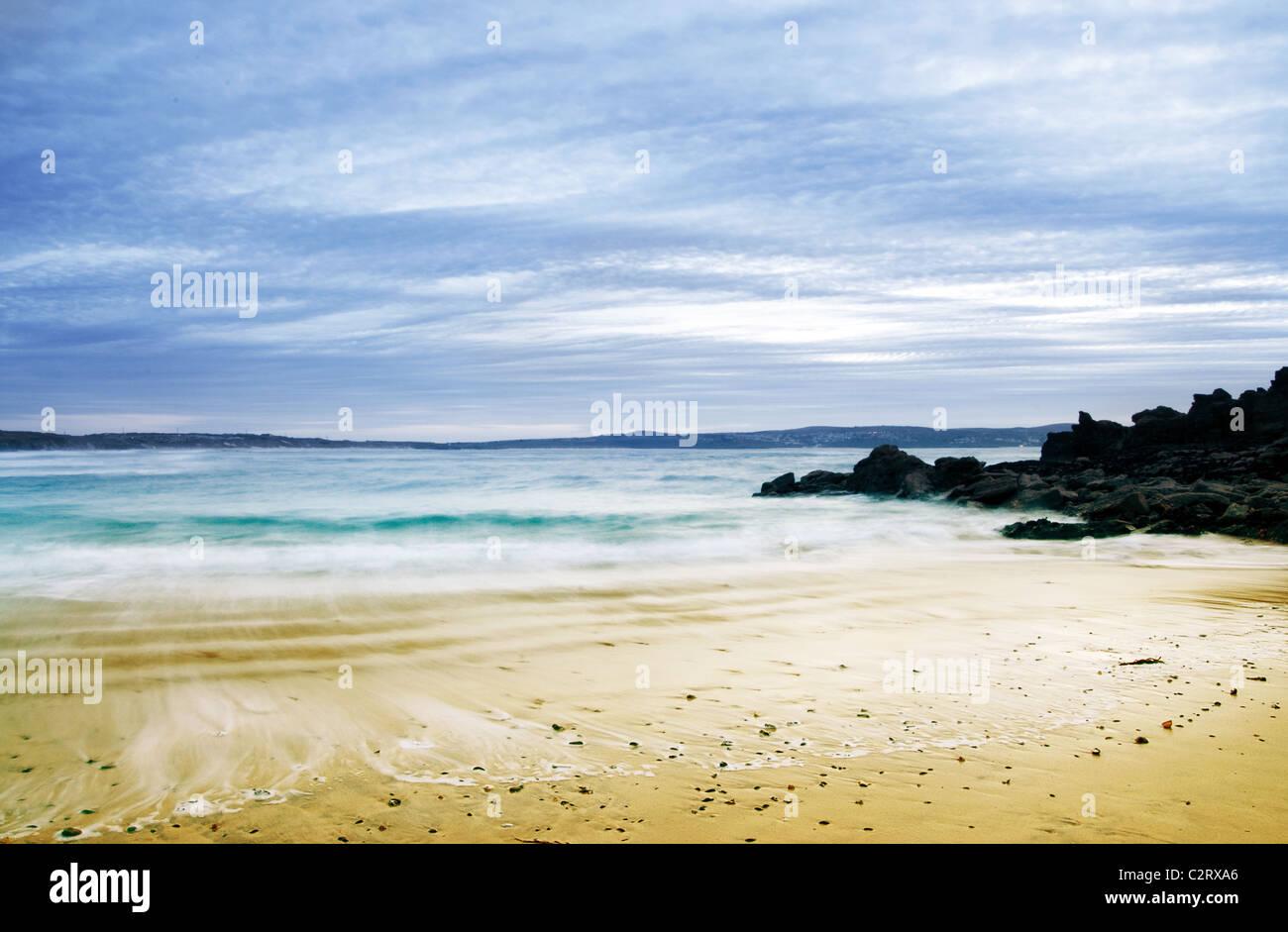 Summer beach - Stock Image
