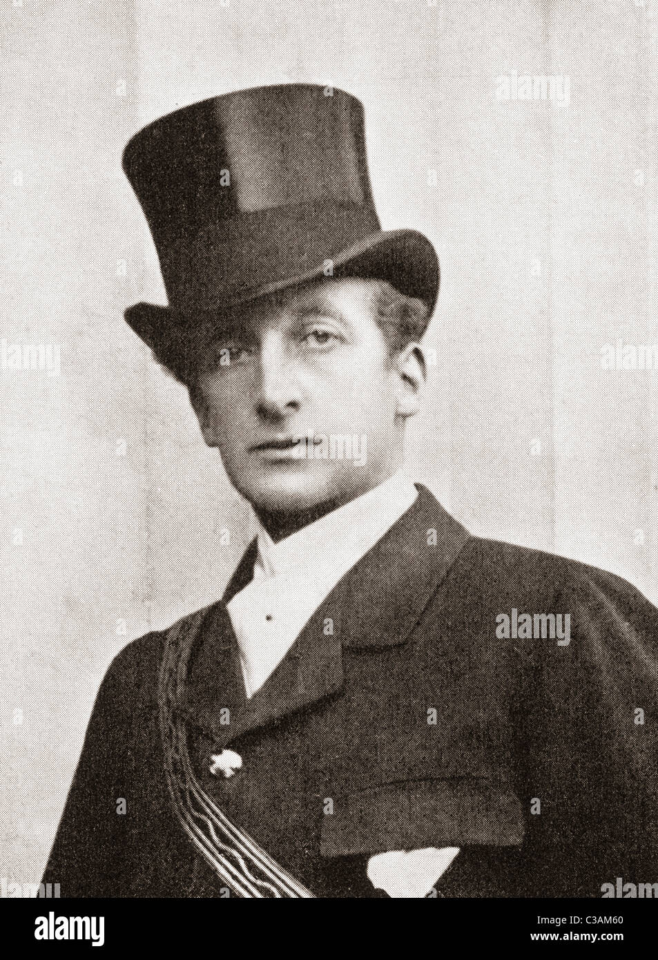 Thomas Lister, 4th Baron Ribblesdale, 1854 – 1925. British Liberal politician. - Stock Image