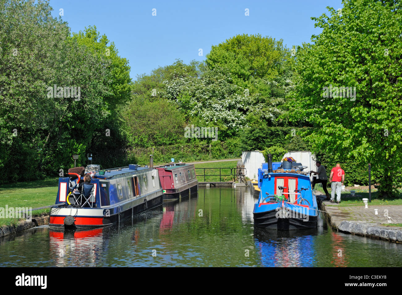 termination-of-the-southern-reach-of-the-lancaster-to-kendal-canal-C3EKY8.jpg