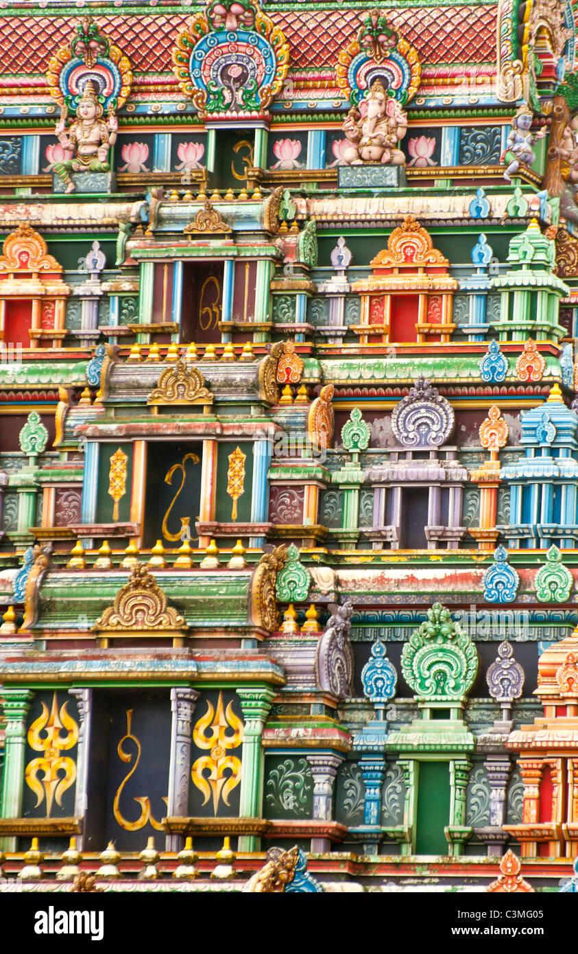 Sri Siva Subramaniya Swami HinduTemple, Nadi, Fiji - Stock Image