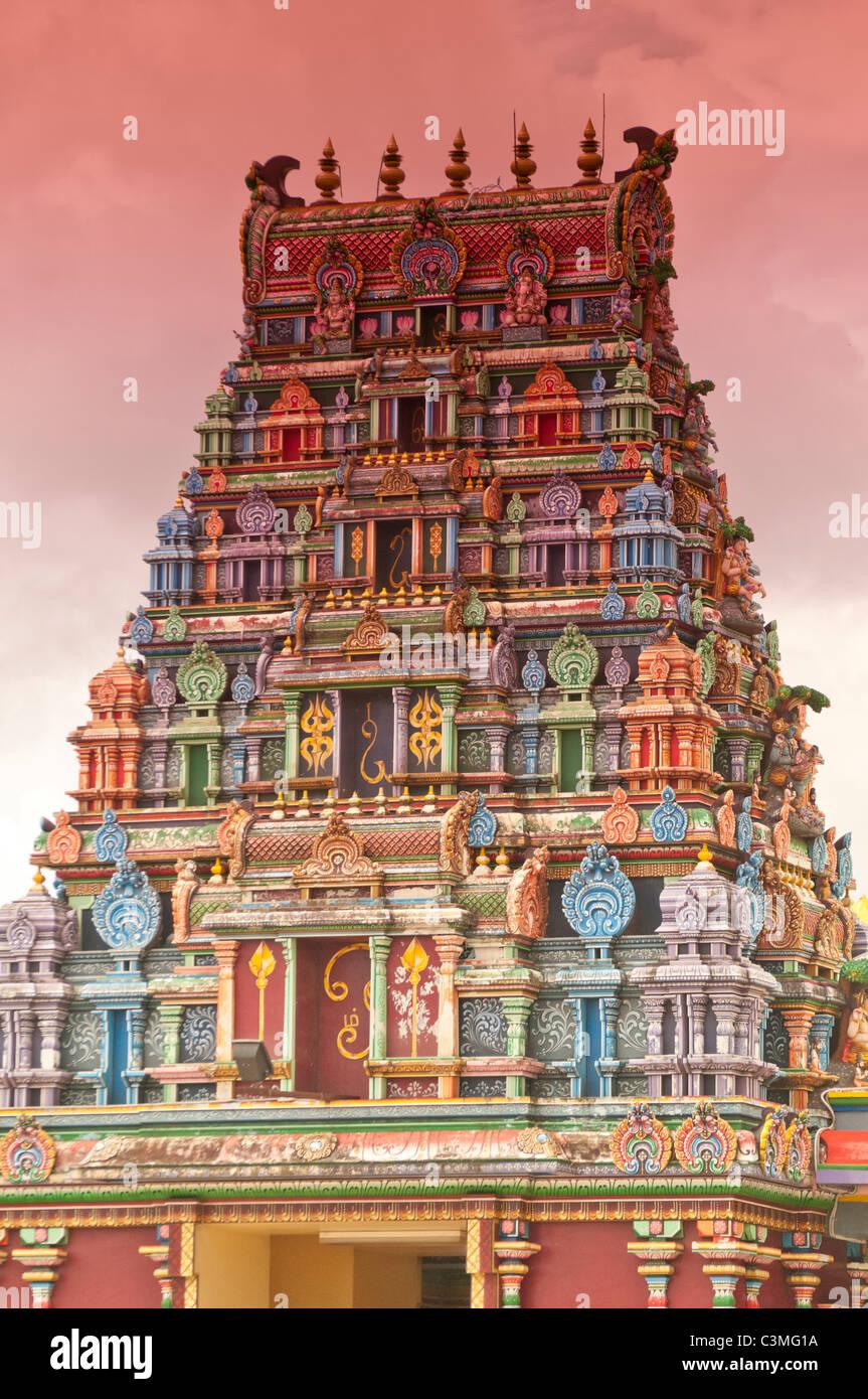 Sri Siva Subramaniya Swami Hindu Temple, Nadi, Fiji - Stock Image