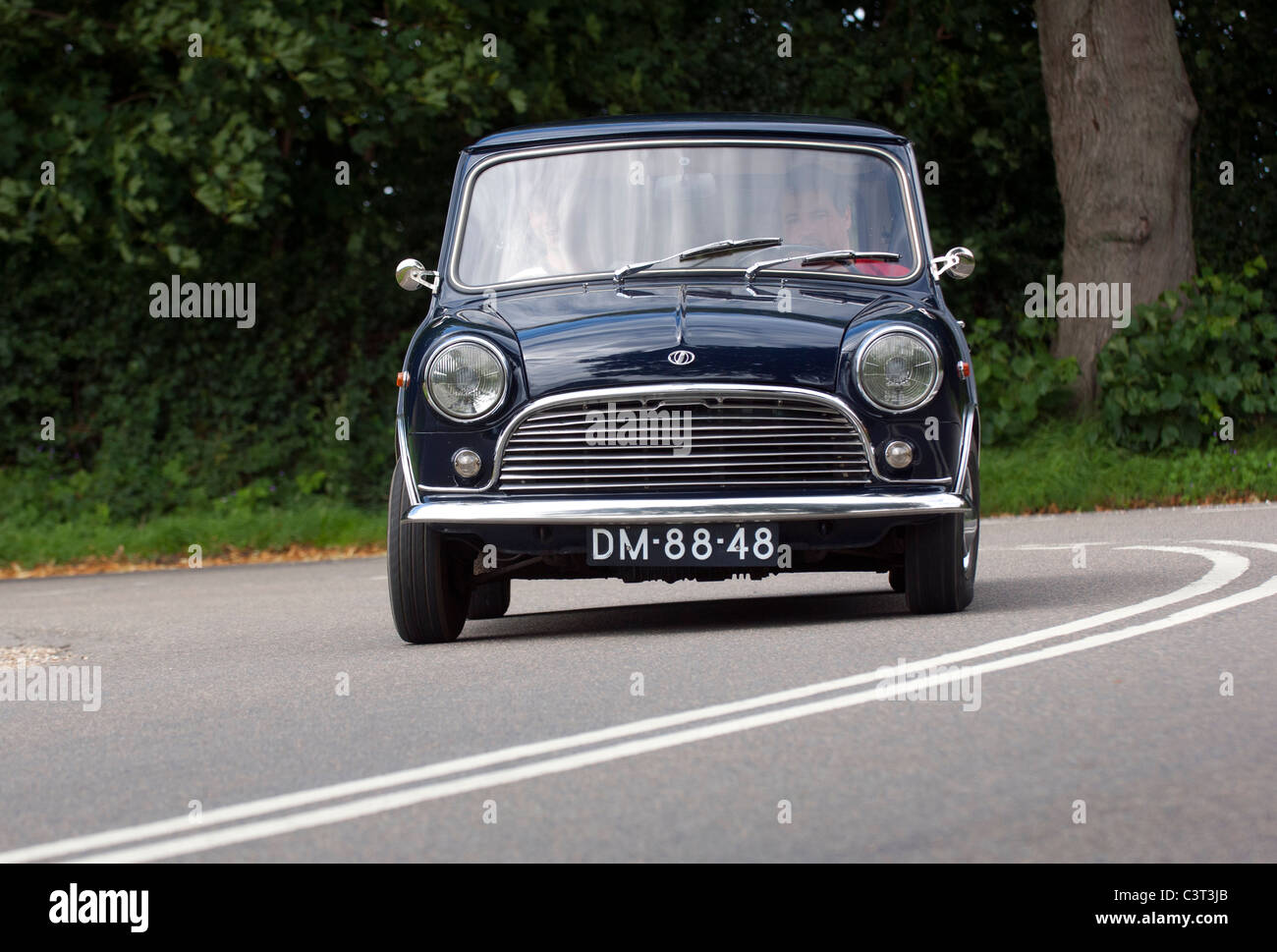 Mini Innocenti Italian Mini small car - Stock Image