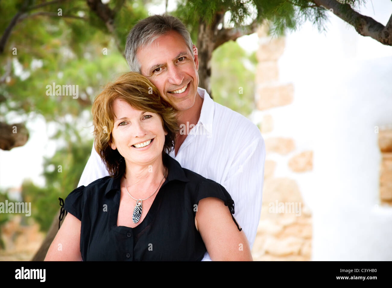 Couple Mature mature couple smiling and having fun stock photo: 36871044 - alamy
