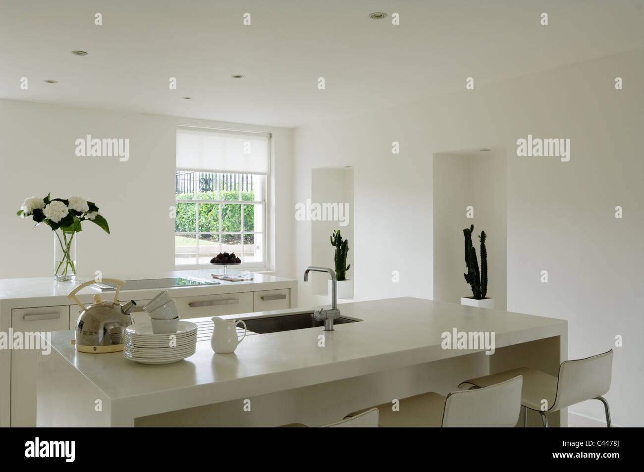 Kitchen Worktops Stock Photos & Kitchen Worktops Stock Images - Alamy