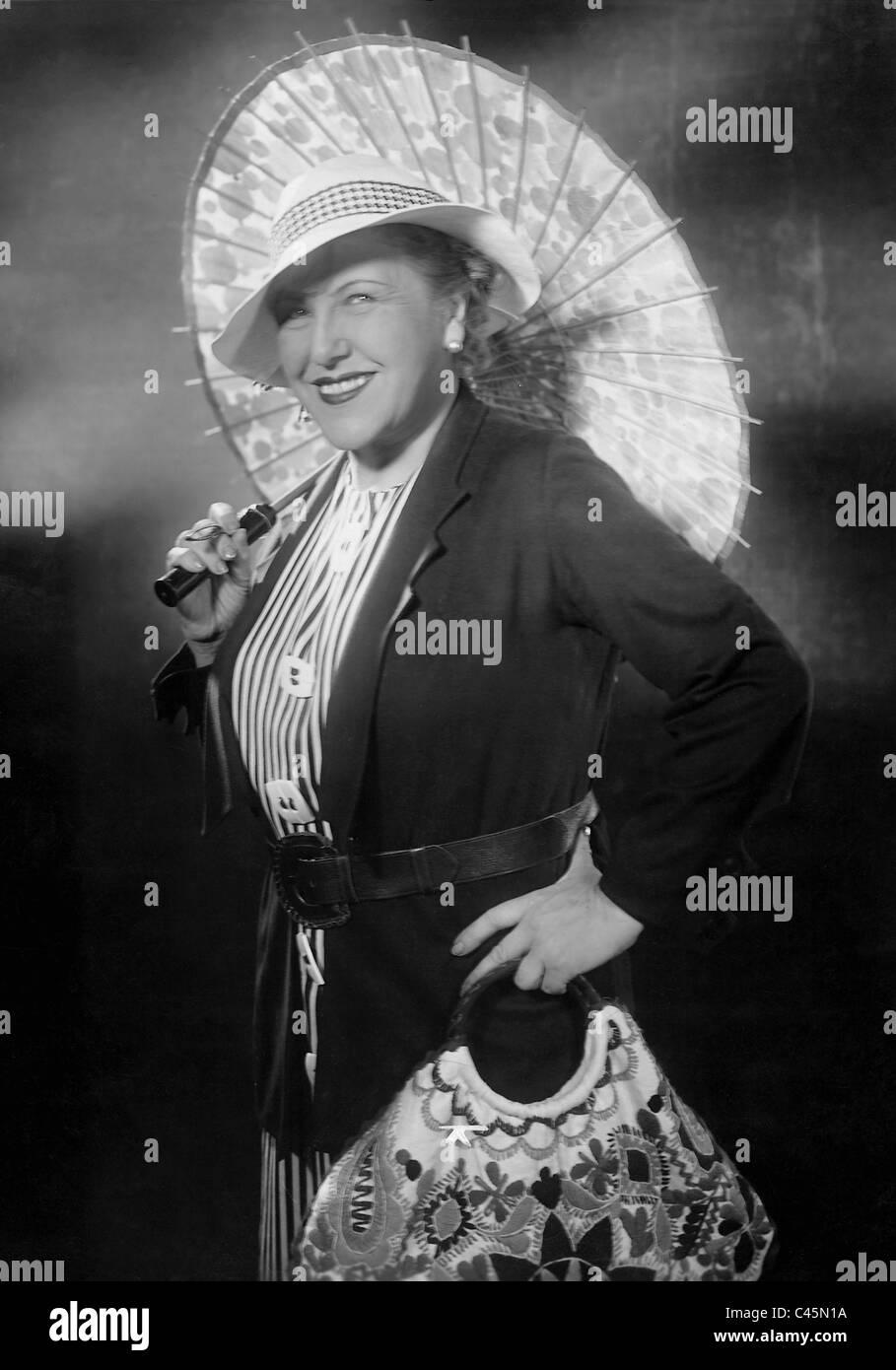 Ida Wuest in 'A seafaring is fun', 1935 - Stock Image