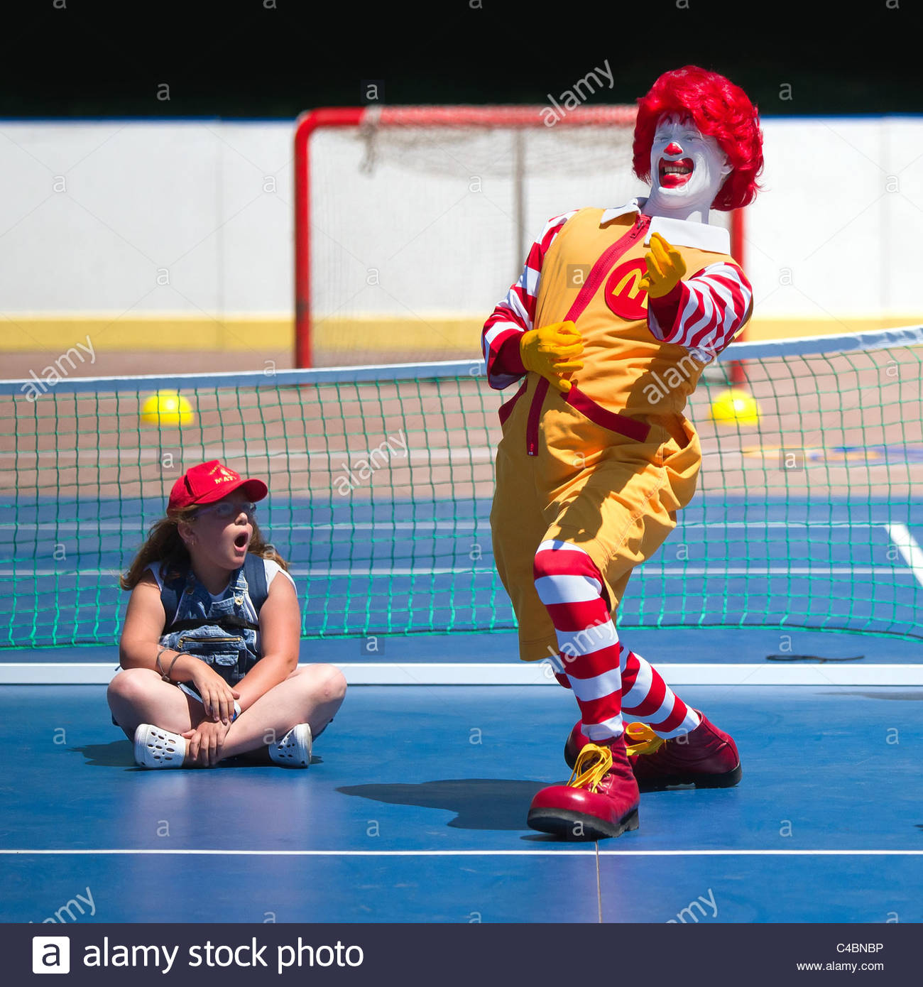 ronald-mcdonald-playing-air-guitar-on-a-