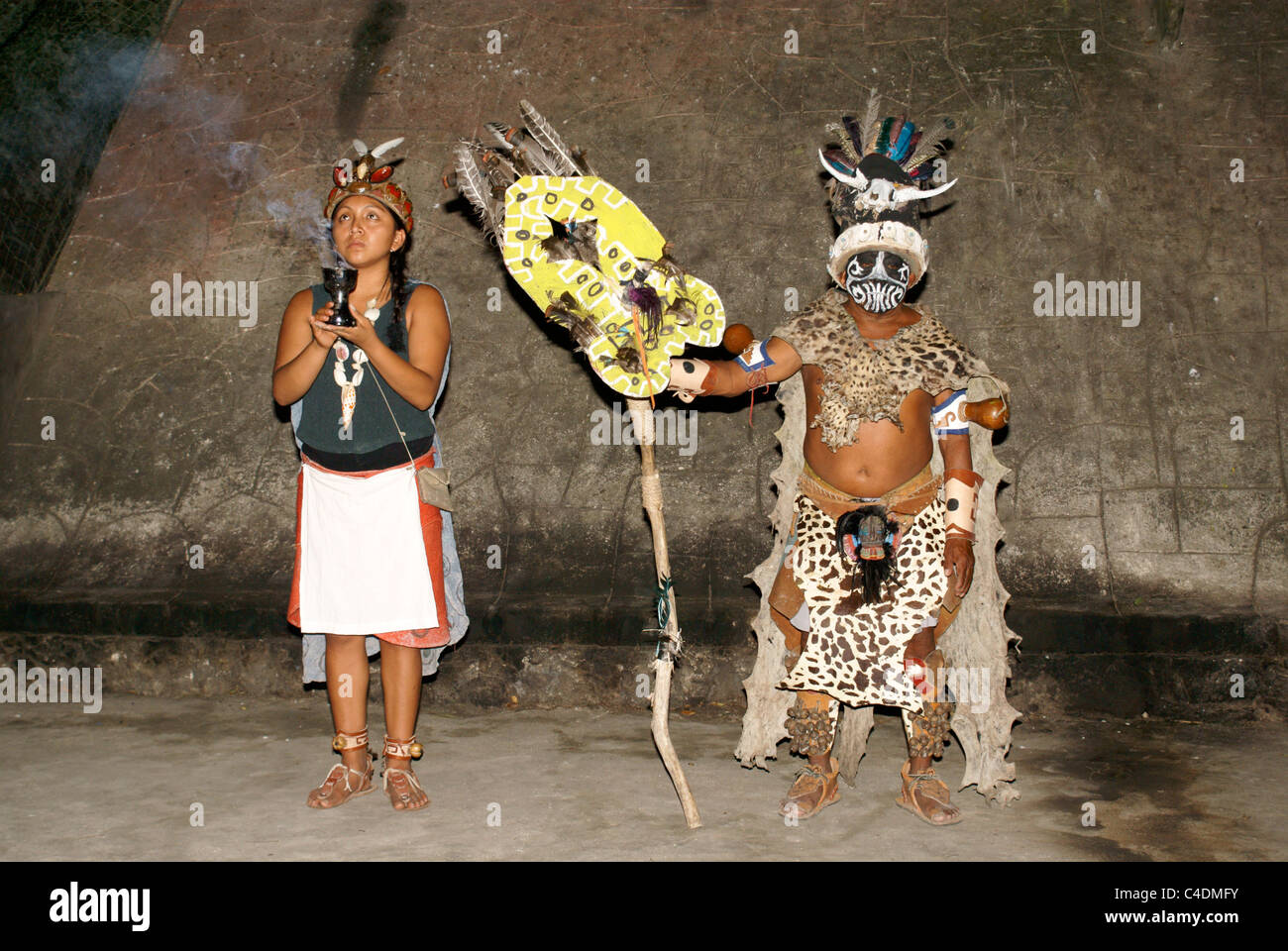 performers-dressed-in-mayan-costumes-nea
