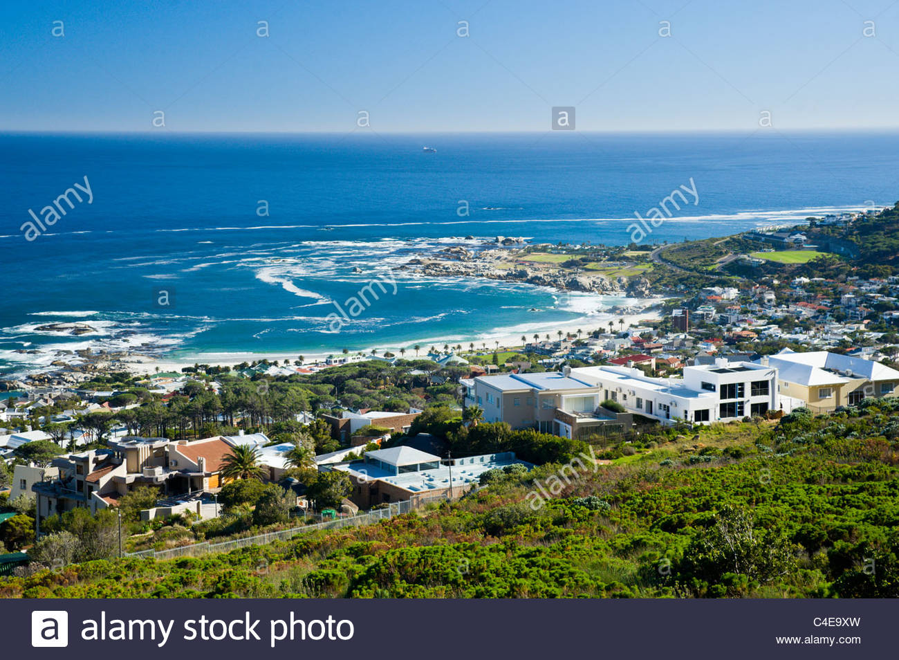Camps Bay, Cape Town, South Africa - Stock Image