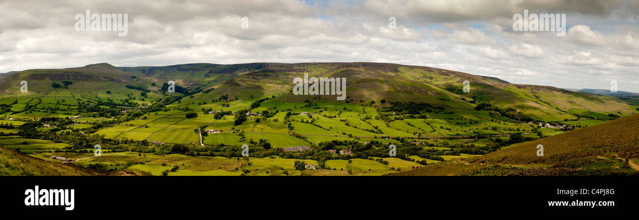 Edale Peak District Derbyshire, United Kingdom - Stock Image