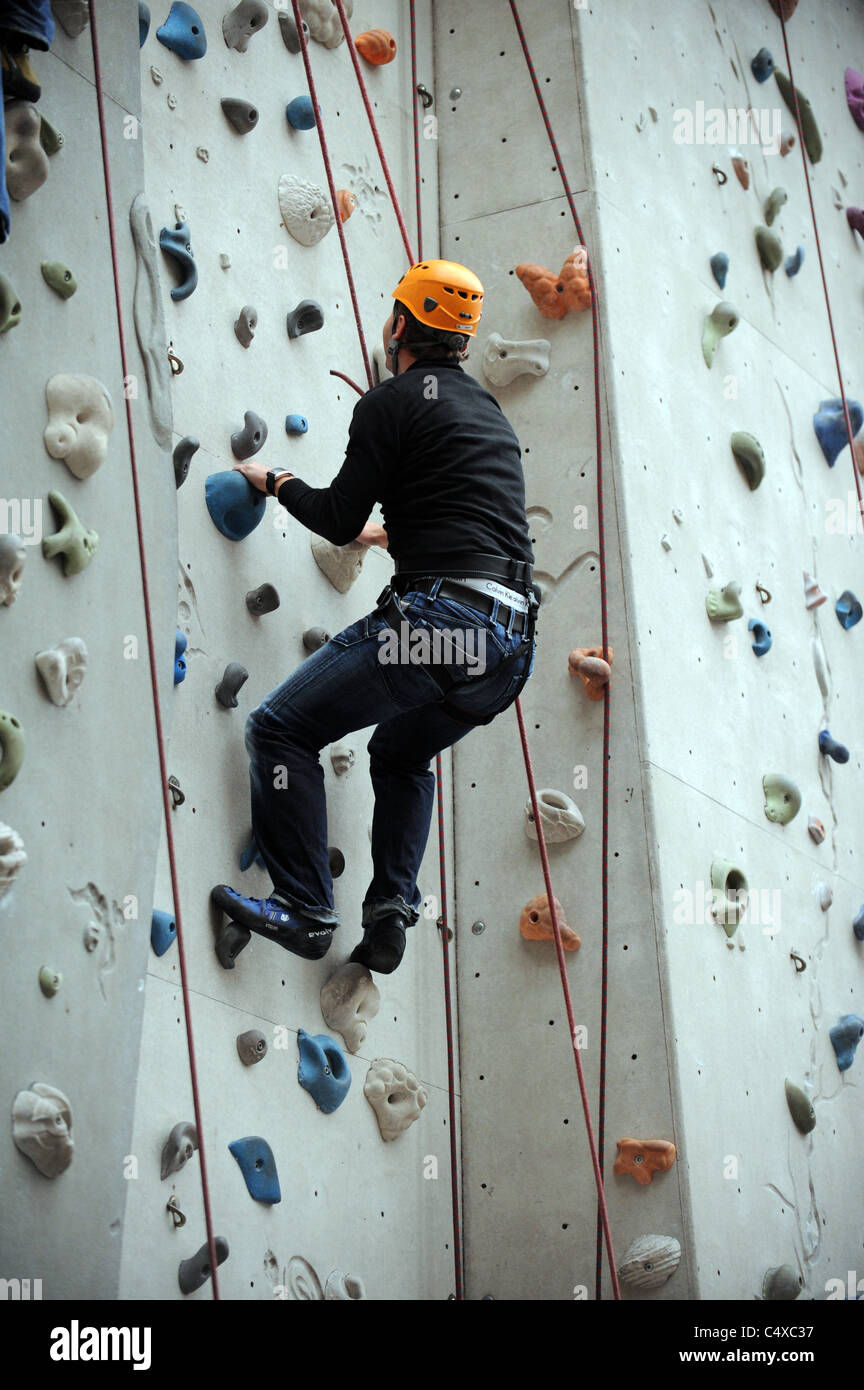 Edinburgh International Climbing Arena Ratho - Stock Image