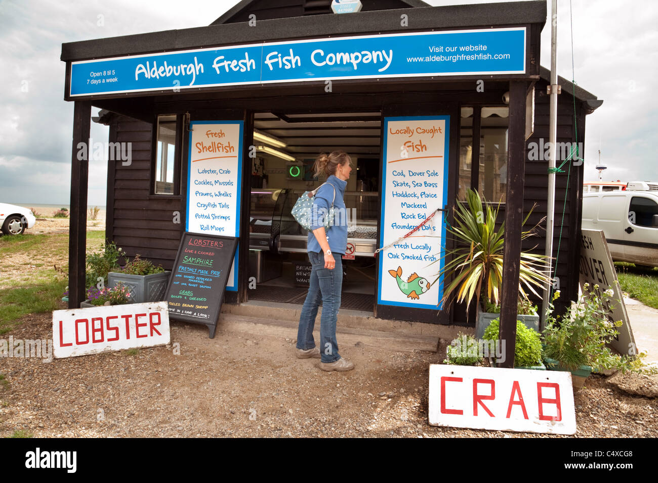Fish stall uk stock photos fish stall uk stock images for The fresh fish company