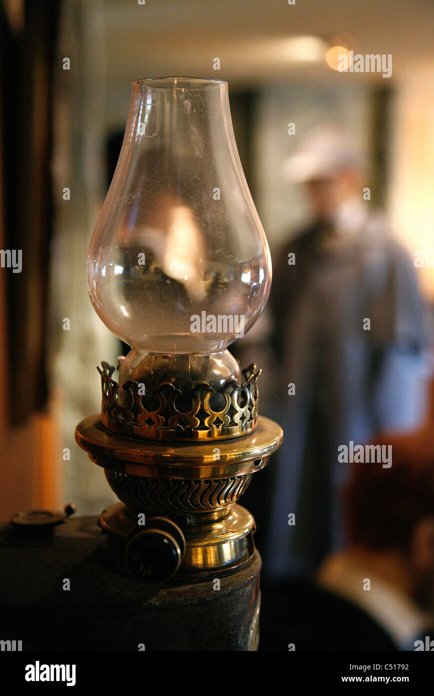 Kerosene lamp - Stock Image