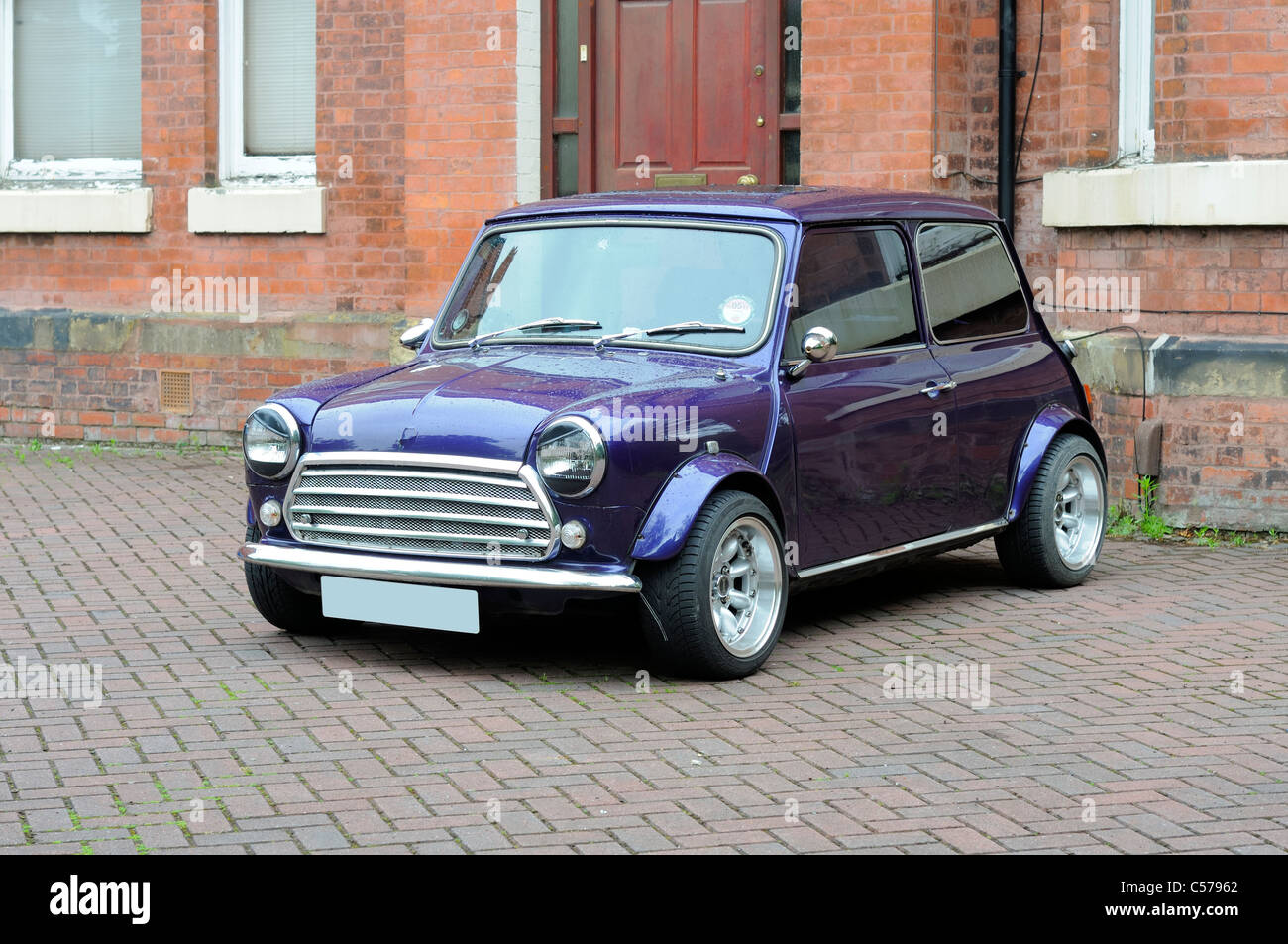 British Motor Corporation (BMC) Original Mini Car - Stock Image