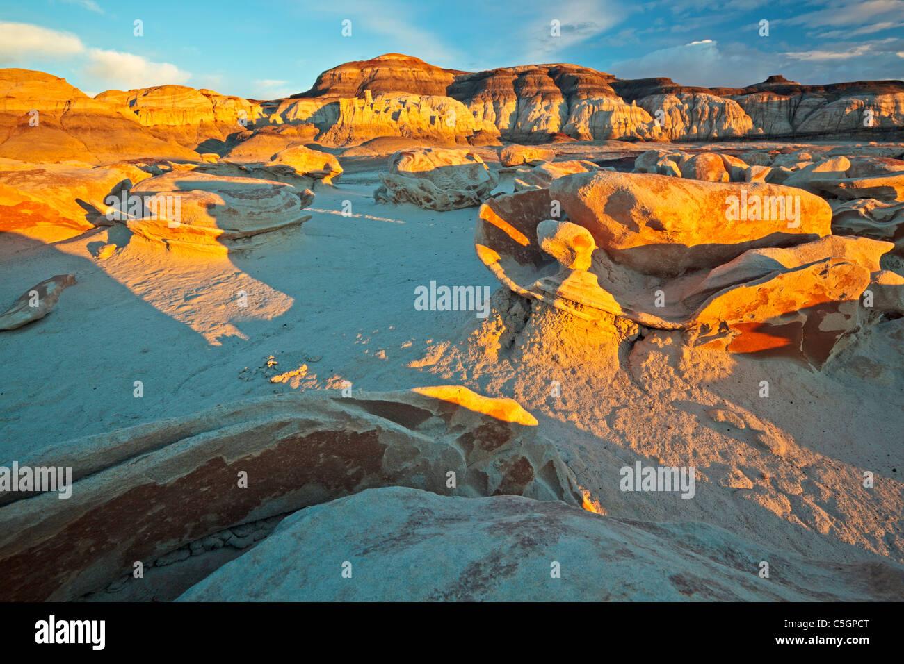 Bisti & De Na Zin Wilderness, New Mexico, USA - Stock Image