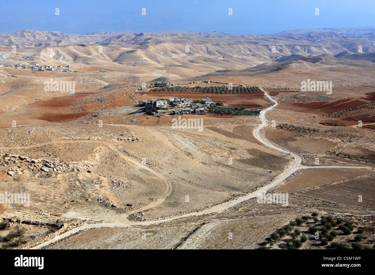 Palace of Herodes the Great (1st century BC), Herodion (Herodium), Israel - Stock Image