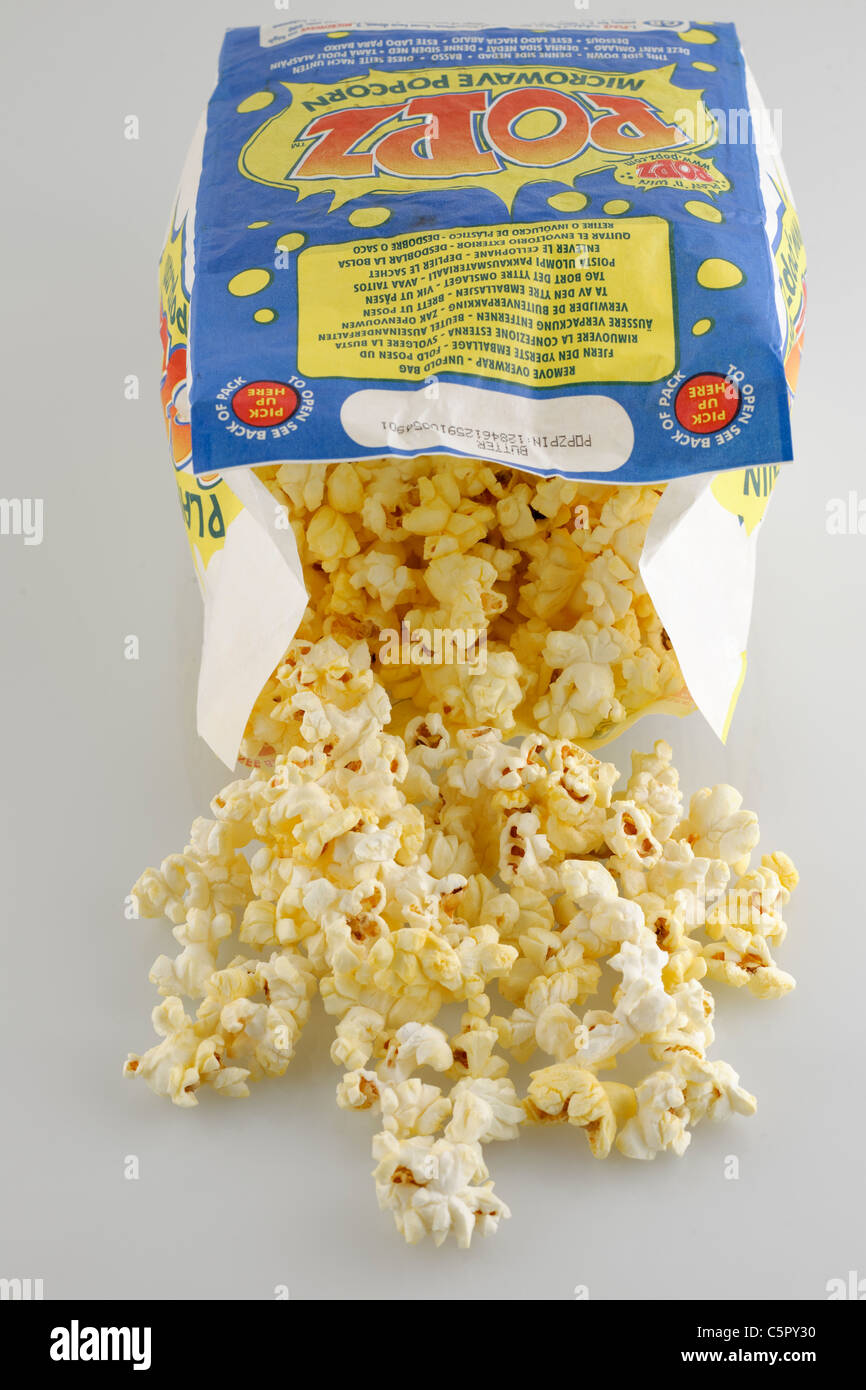 how to make butter popcorn in microwave