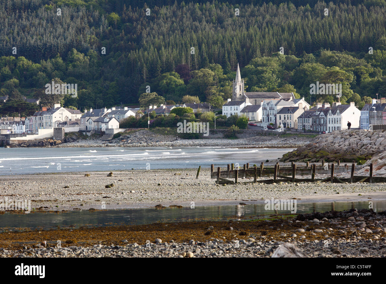 Great Britain, Northern Ireland, County Down, Newcastle - Stock Image