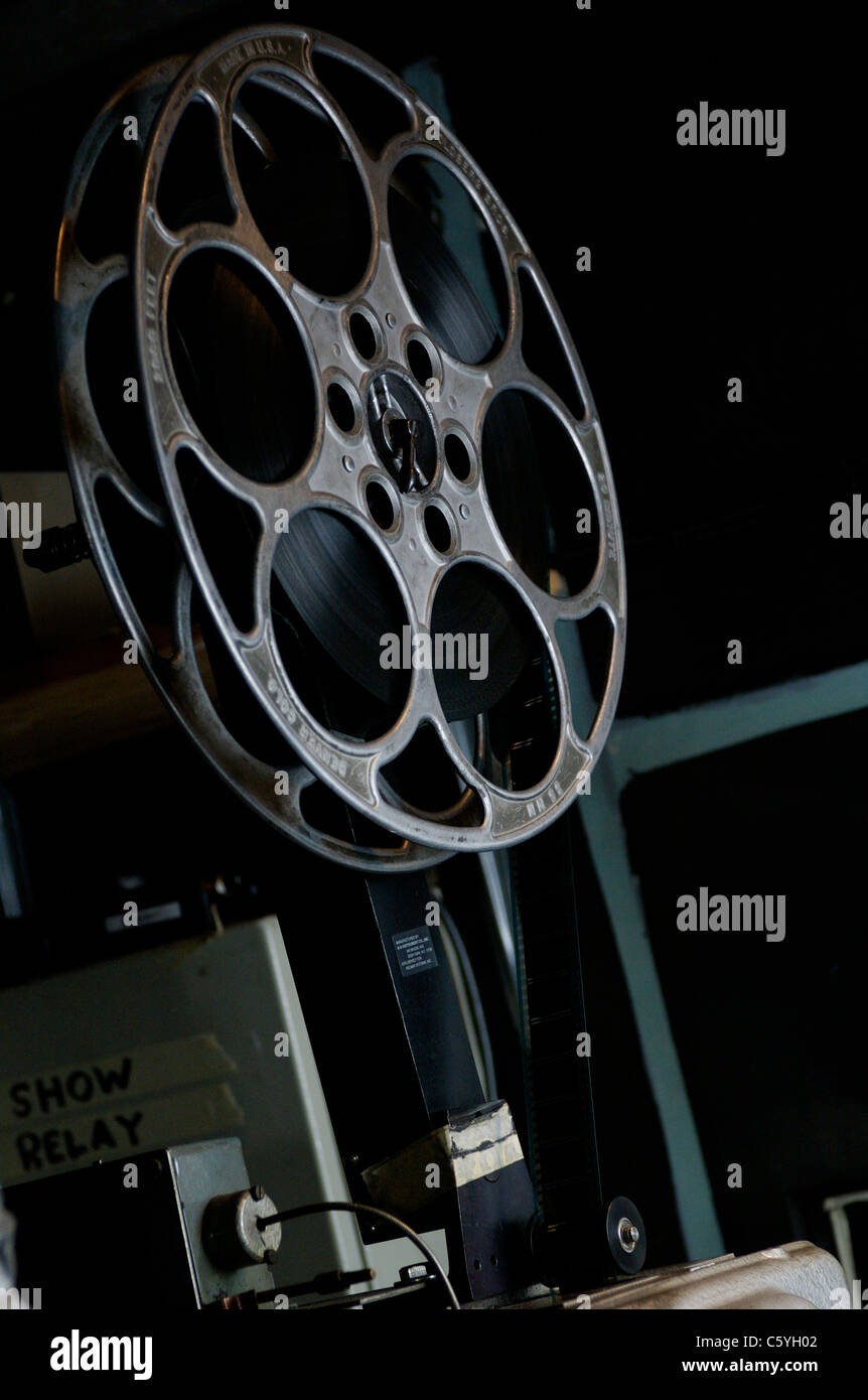 Cinema film reel - Stock Image