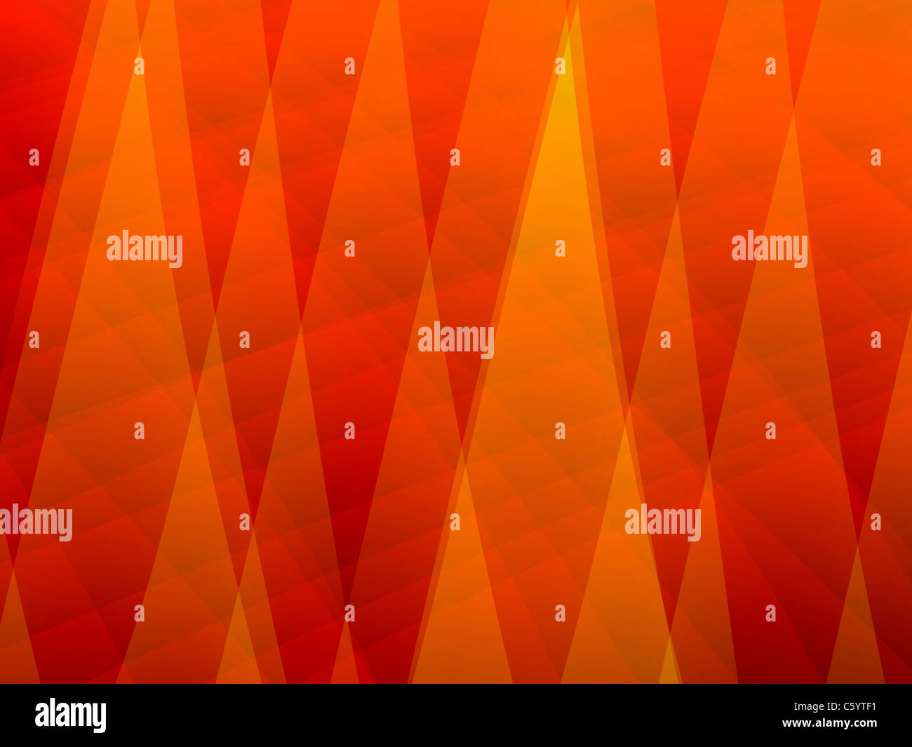 Abstract Orange Background - Stock Image