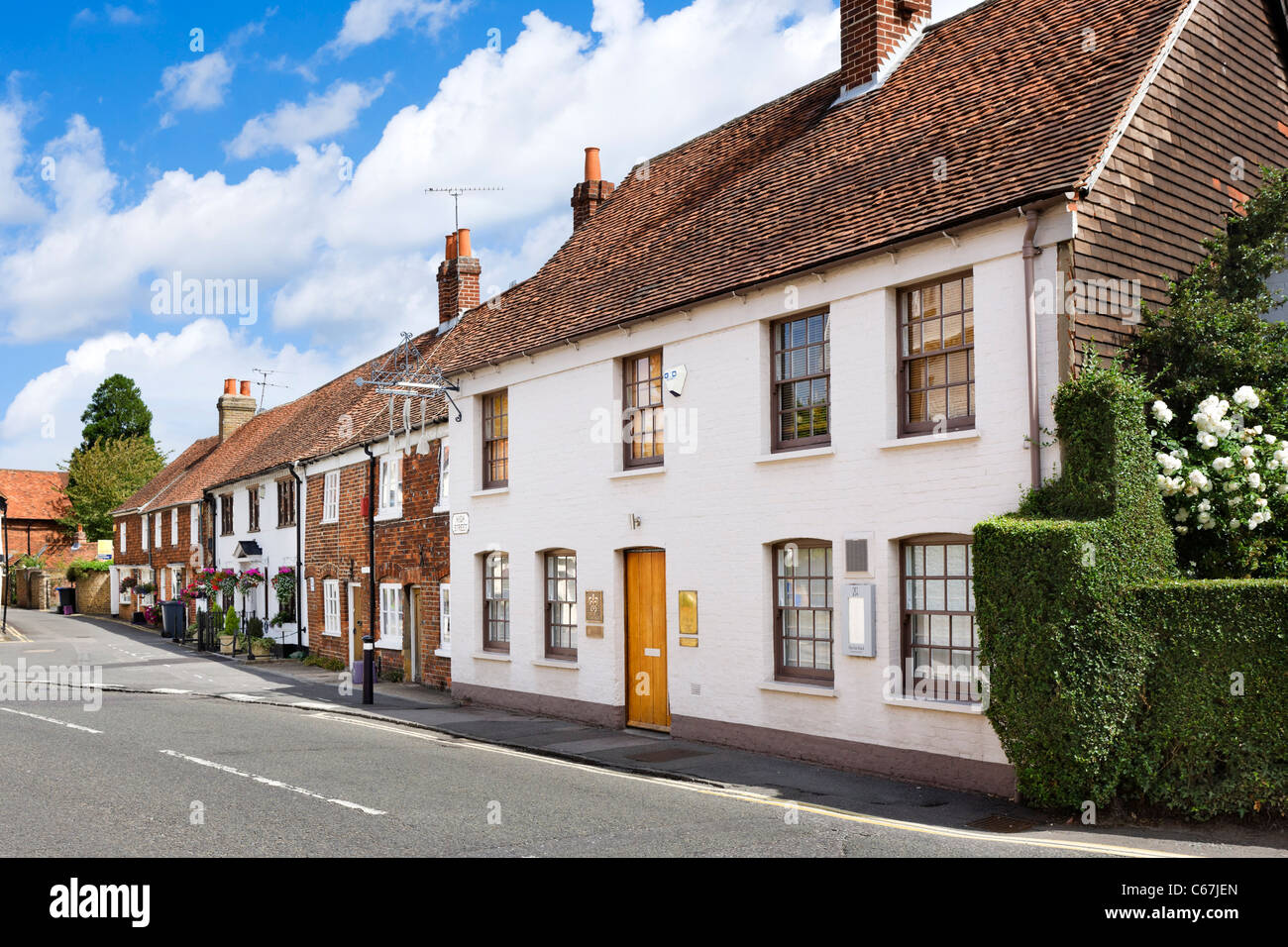 Heston Blumenthal's Fat Duck Restaurant on the High Street in Bray, Berkshire, England, UK Stock Photo