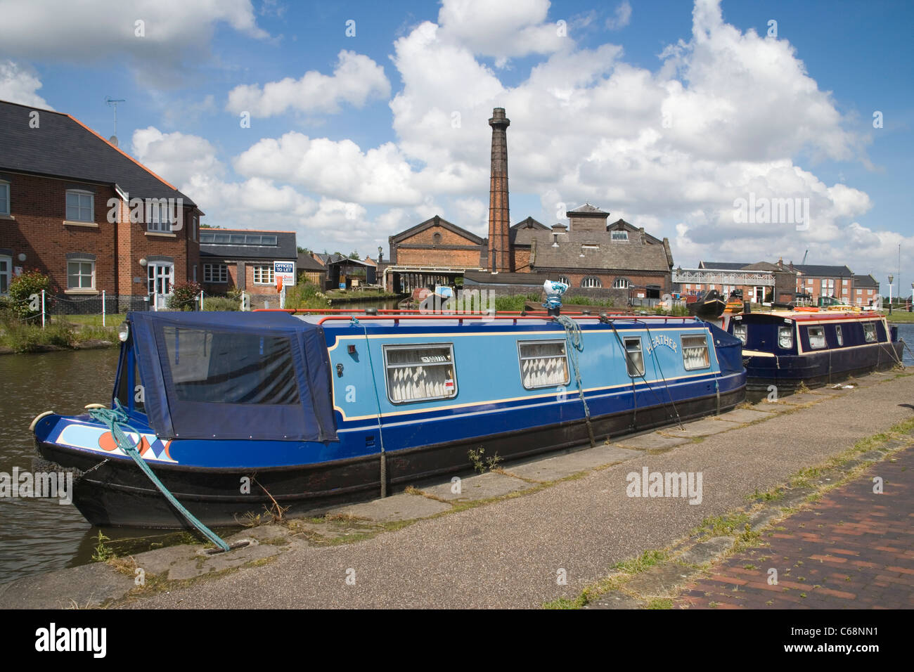 national waterways museum at ellesmere port on the wirral Stock Photo