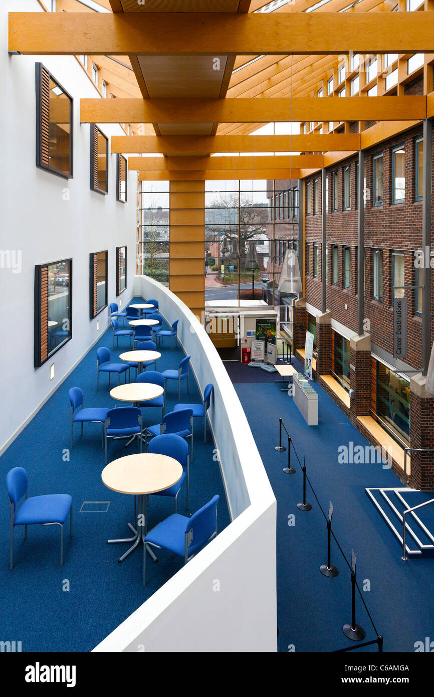 Modern clean Interior reception area George Thomas Building with the ...