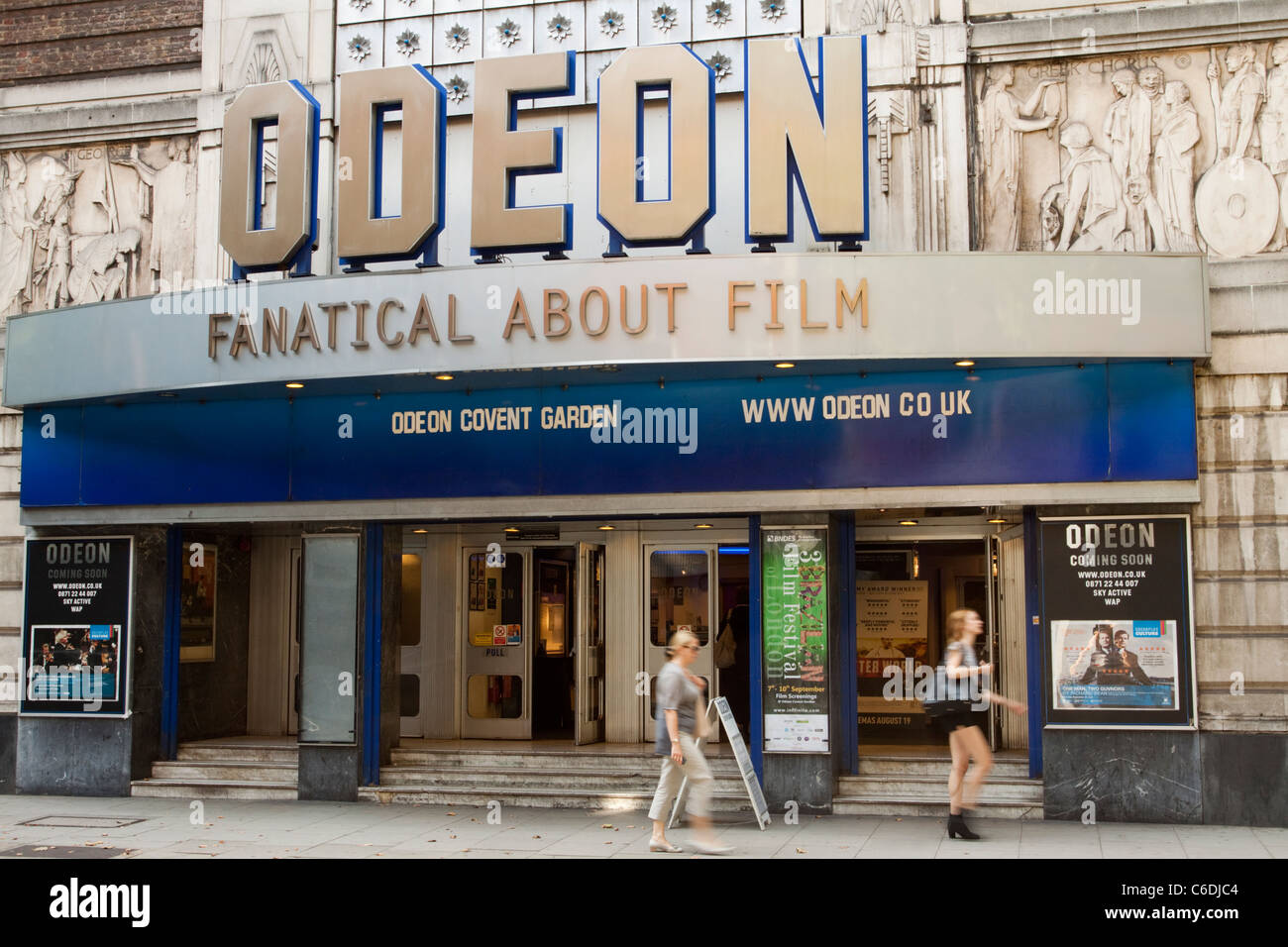 Odeon cinema, Covent Garden, London, England, UK Stock Photo
