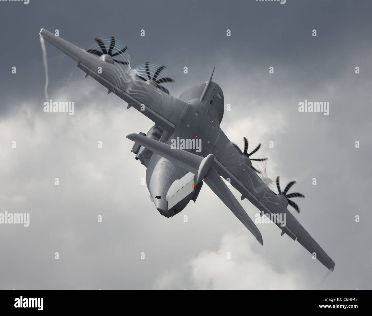 Military Transport Aircraft - Stock Image