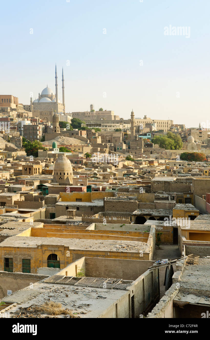 view of cairo old town in egypt - Stock Image