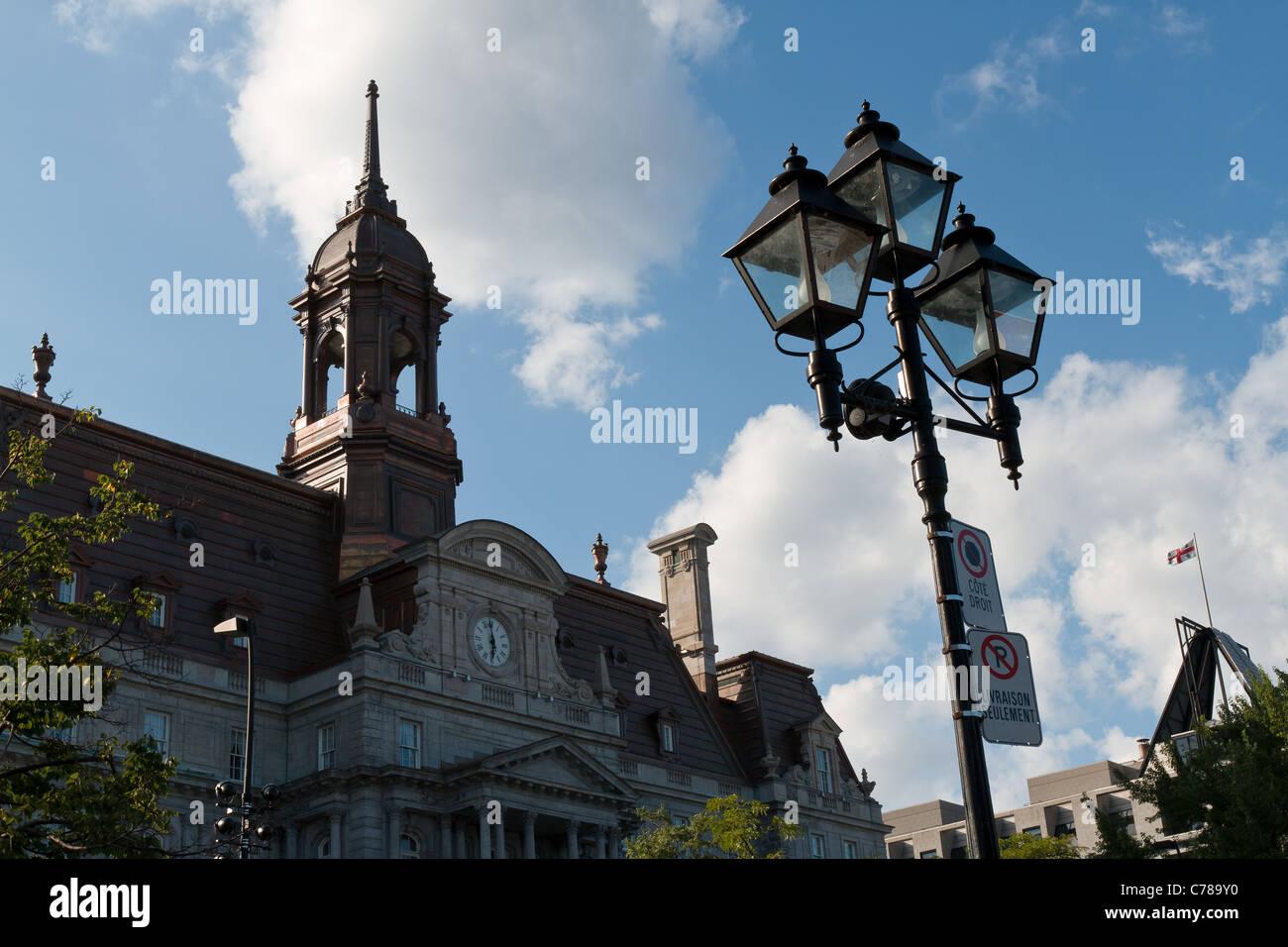 Notre-Dame-de-Bon-Secours Chapel, Montreal, Quebec, Canada. - Stock Image