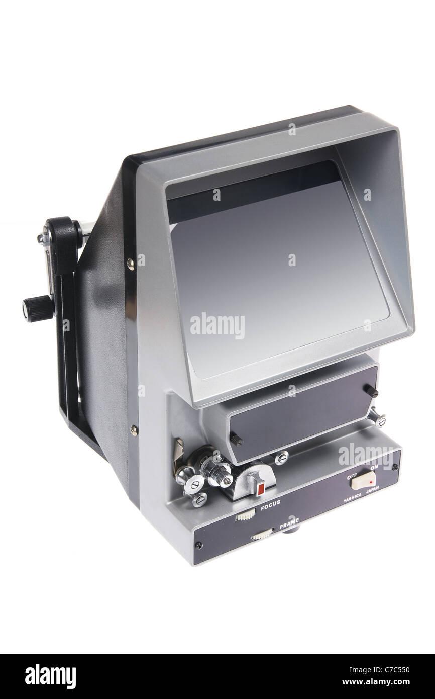 Vintage Film Editing Machine - Stock Image
