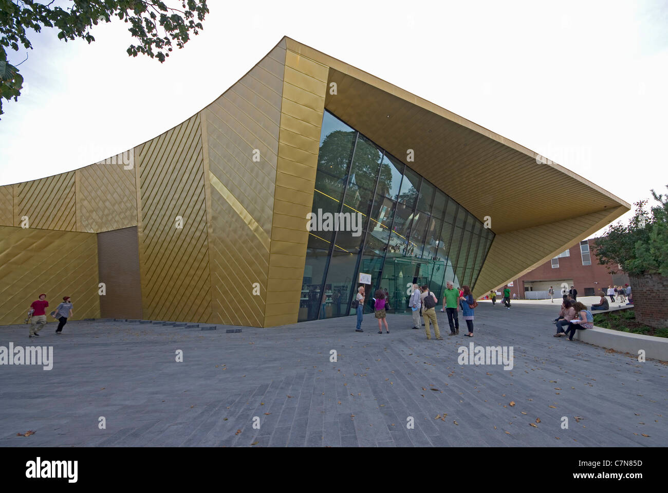 Colchesters Firstsite arts centre - Stock Image