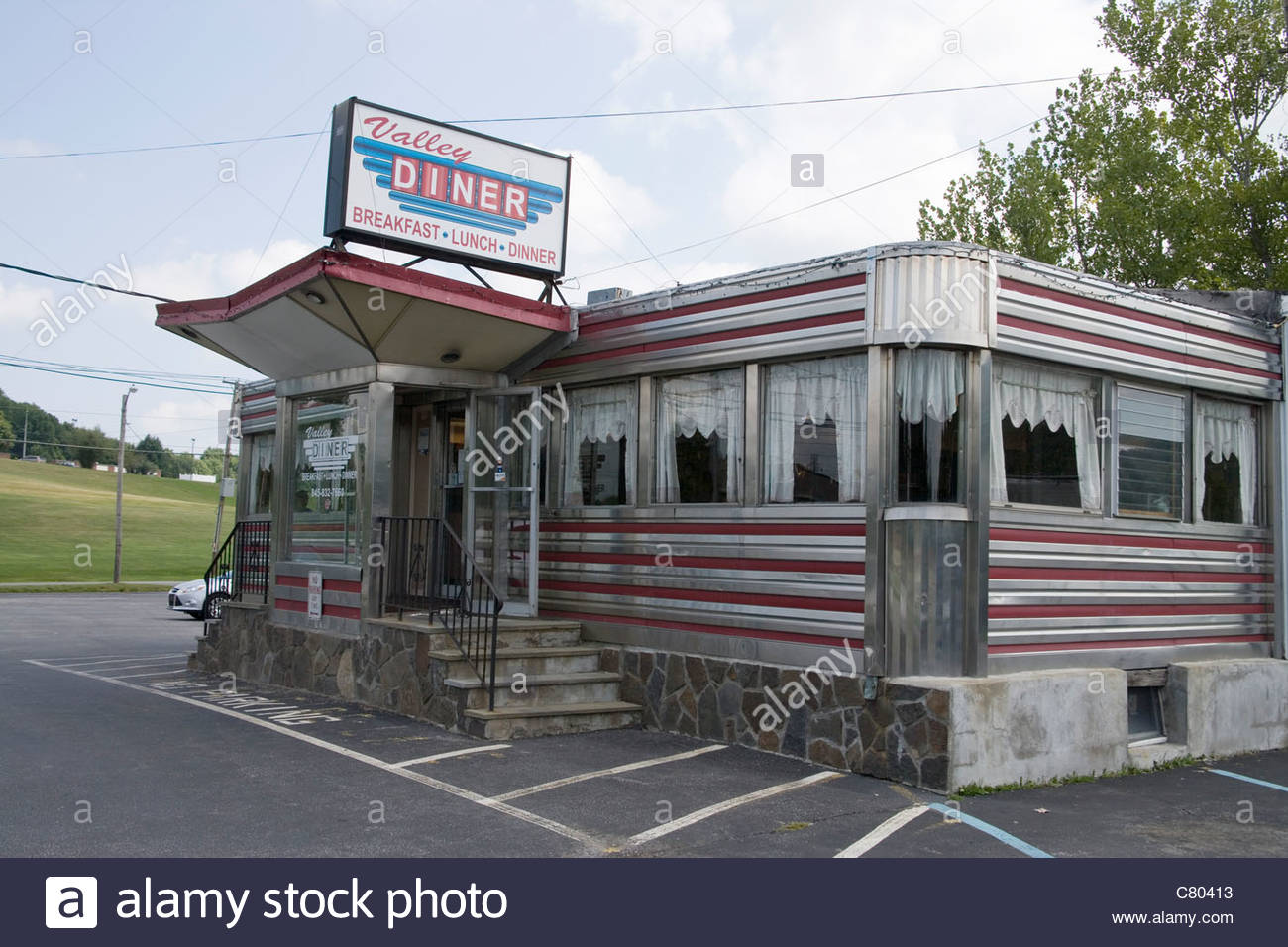 dover valley diner Stock Photo