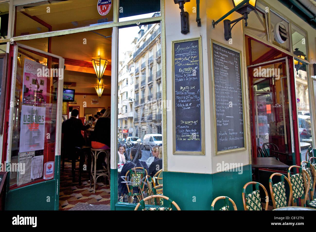 Paris Cafe Stock Photos & Paris Cafe Stock Images - Alamy