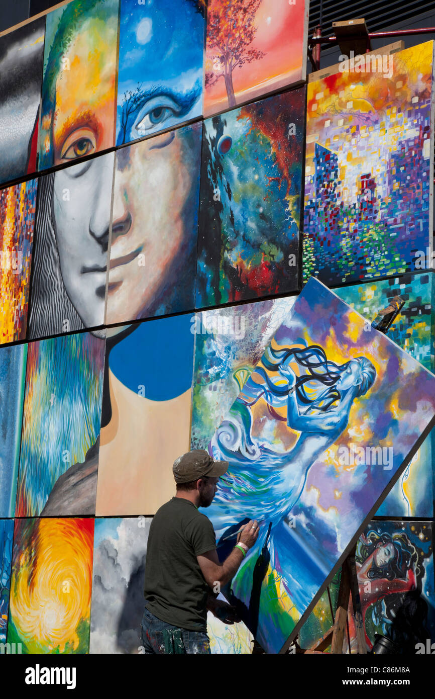 ArtPrize, an annual art competition in Grand Rapids, Michigan - Stock Image