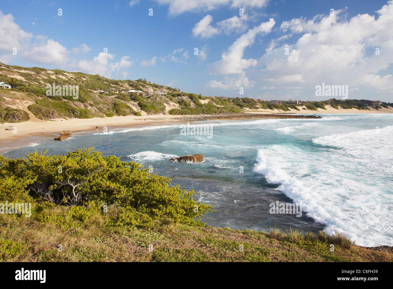 Tofo beach, Tofo, Inhambane, Mozambique - Stock Image