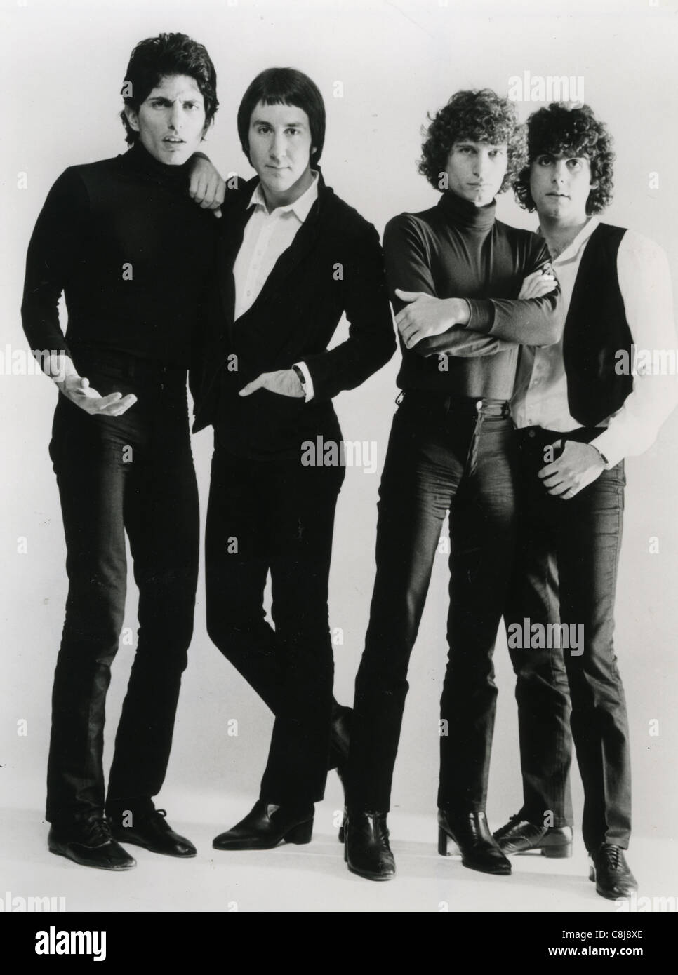 THE KNACK Promotional photo of US rock group about 1980 Stock Photo
