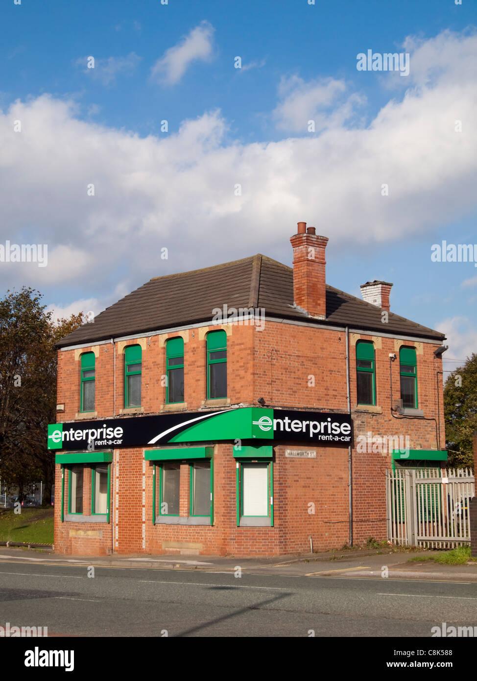Enterprise Rent A Car Manchester City Centre