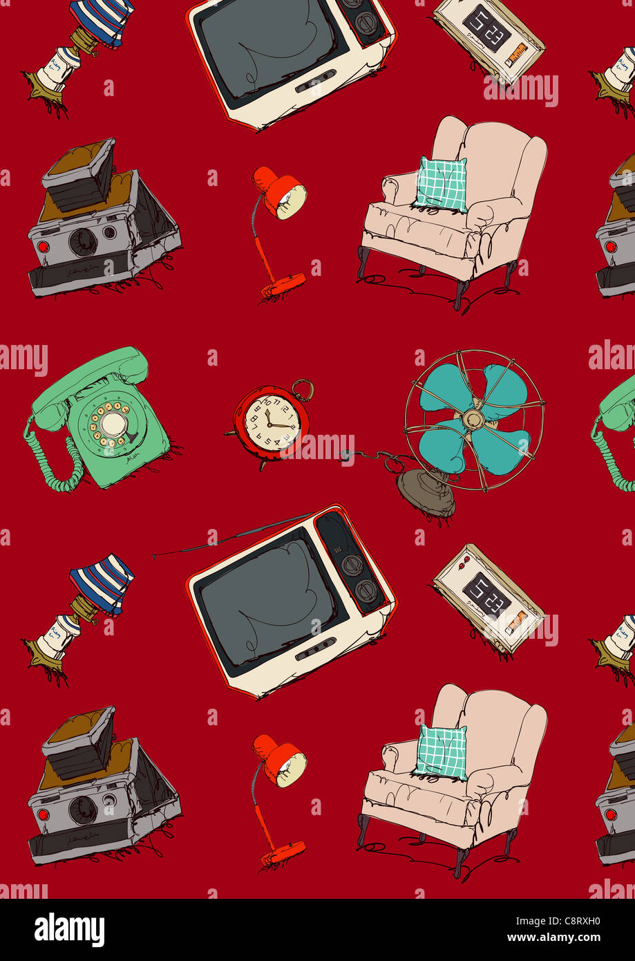 Consumer Product Icon Set - Stock Image