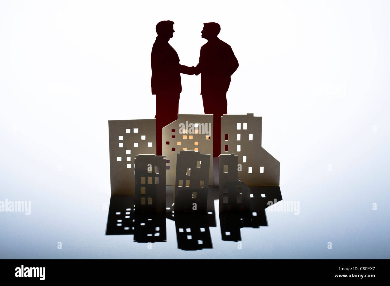 Concept of partnership and success - Stock Image