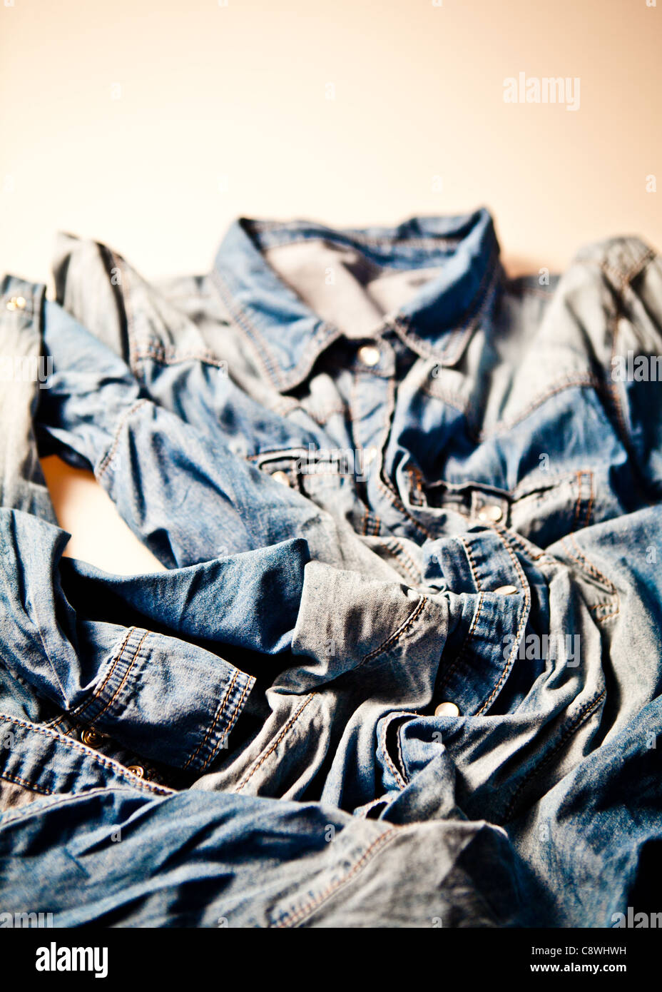 denim fashion - Stock Image
