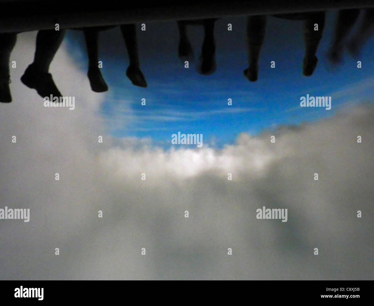 'Soaring Over California' ride at Epcot Center, Disney World, Orlando, Florida - Stock Image