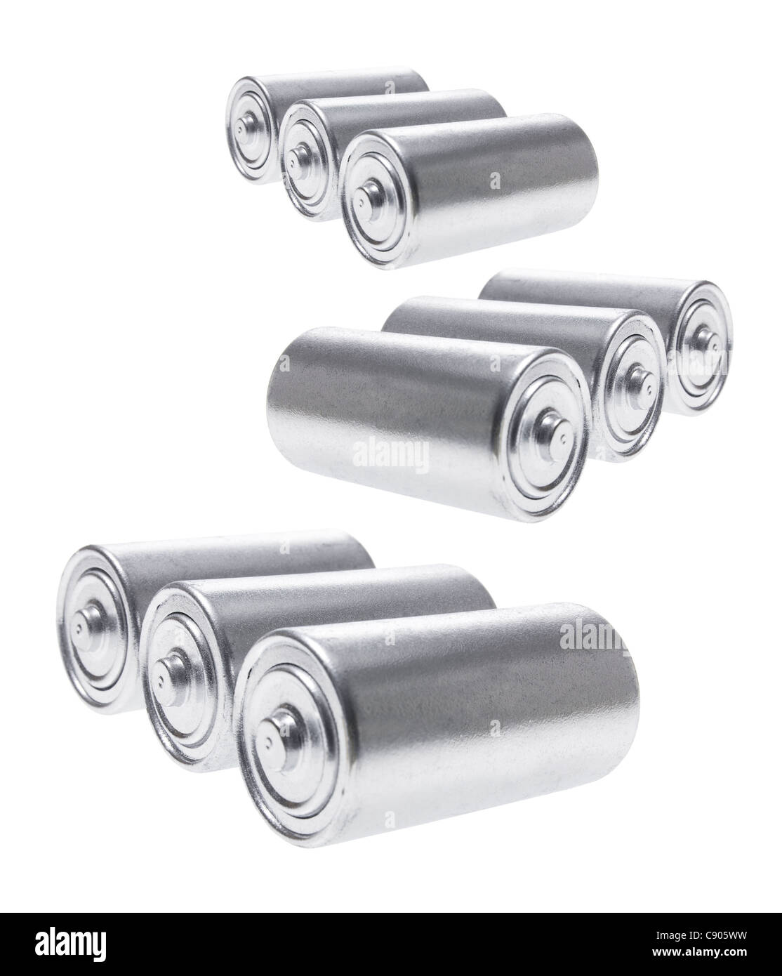 Batteries - Stock Image
