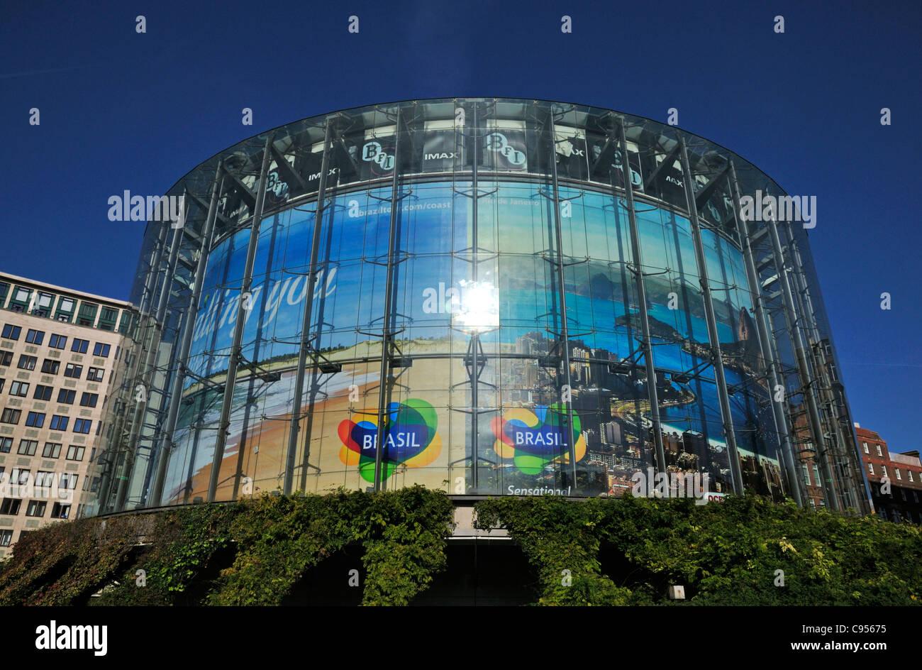 BFI IMAX, South Bank, Waterloo, London SE1, United Kingdom - Stock Image