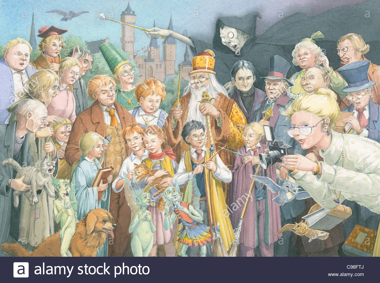 Harry Potter - Stock Image