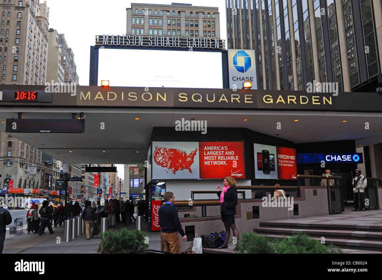 Madison Square Garden Exterior Stock Photos Madison Square Garden Exterior Stock Images Alamy