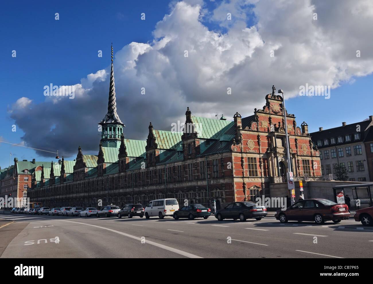 Copenhagen: Børsen - Stock Image
