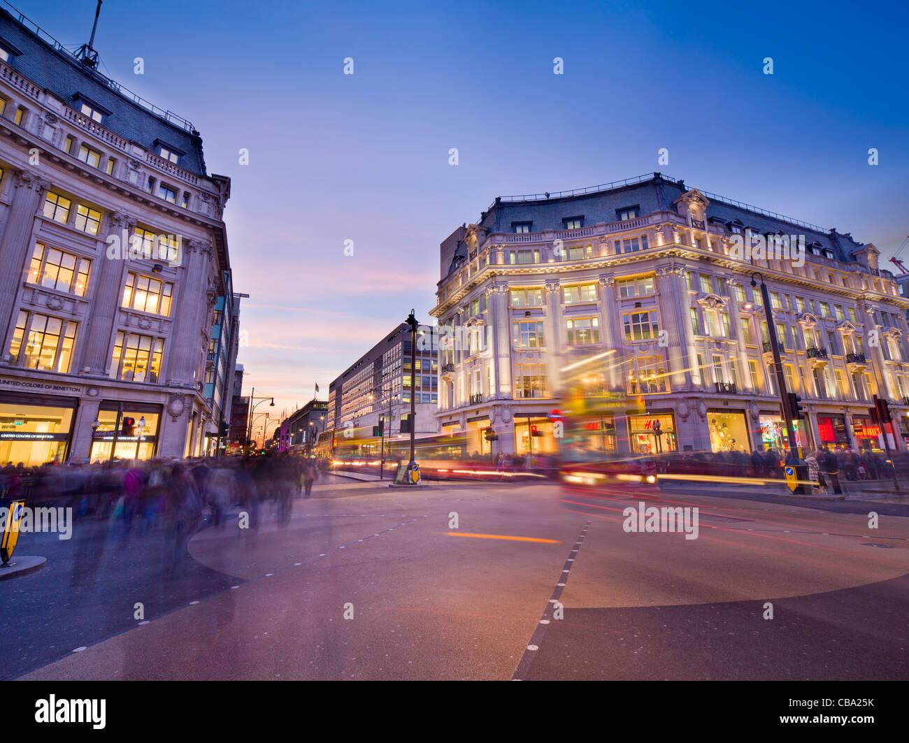 London Oxford Circus - Stock Image