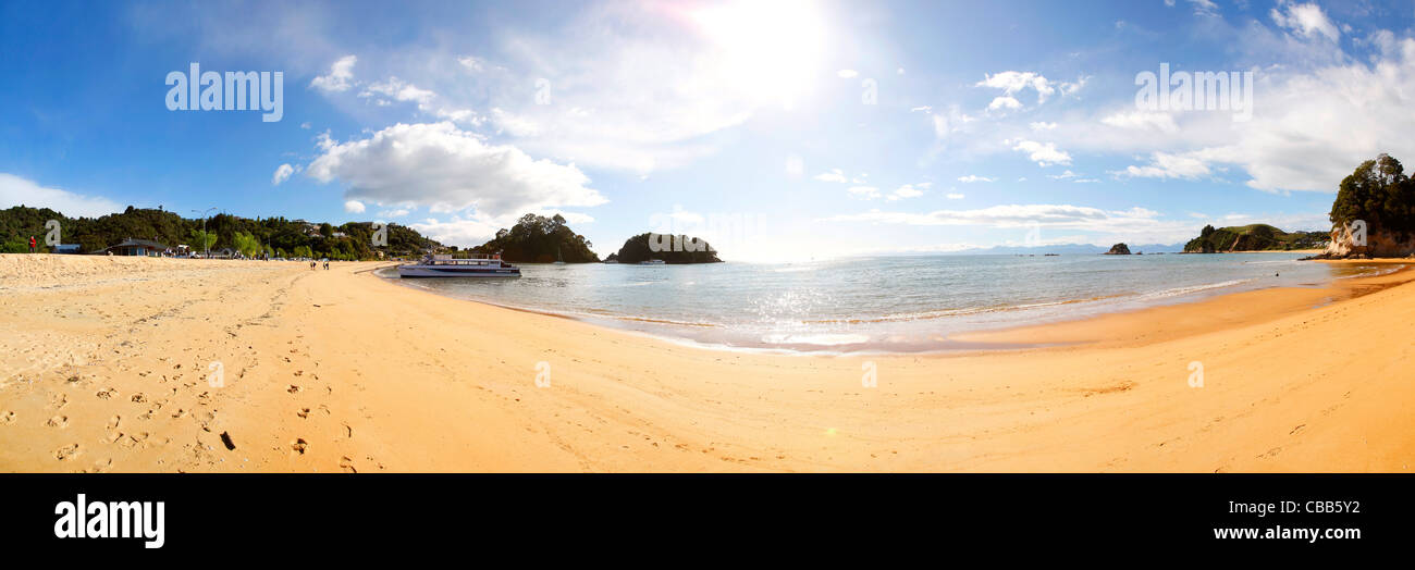 Kaiteriteri Beach, Abel Tasman National Park, South Island, New Zealand - Stock Image
